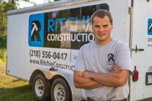 Ritchie Construction job trailer